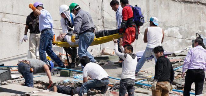 Suman 134 hasta ahora los muertos por el terremoto en Ciudad Mexico de este martes