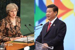 Theresa May, primera ministra británica, y Xi Jinping, presidente de China, tratan relaciones bilaterales y situación de Corea