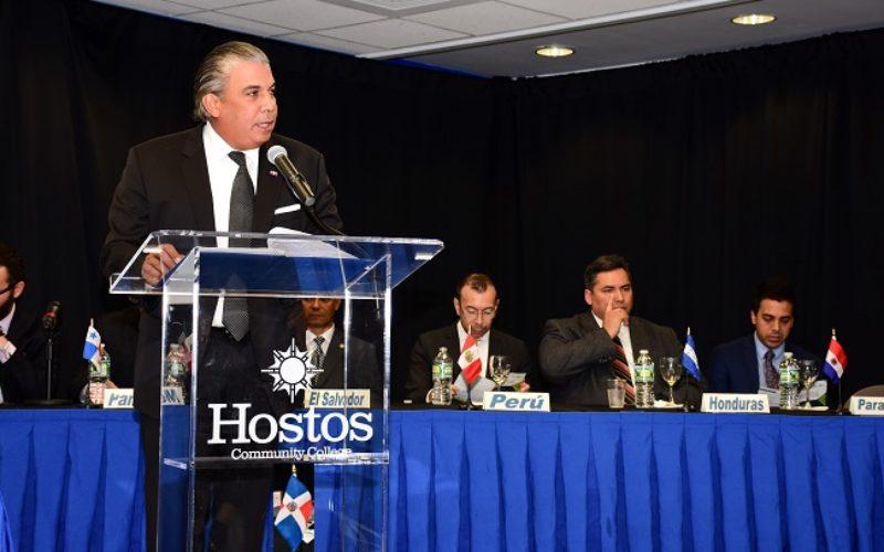Cónsules de países hispanos celebran encuentro en Nueva York