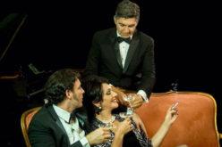 «Al final del arcoíris», la obra teatral, con CeciliaGarcía, Mario Arturo y Checho Lora