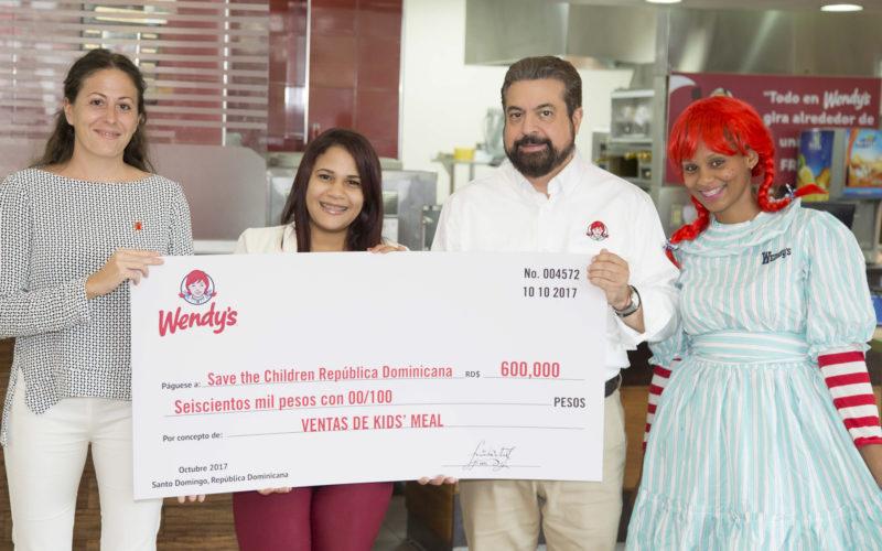 Wendy's, con campaña solidaria a través de su desayuno infantil