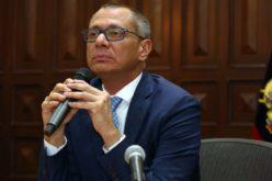 Destituido el vicepresidente de Ecuador, Jorge Glas; la Contraloría se lo notifica