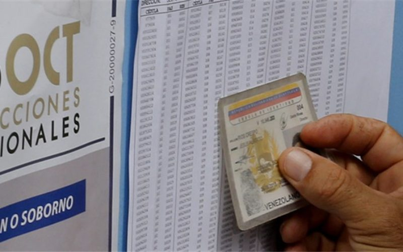 Oposición venezolana desconoce resultados elecciones regionales
