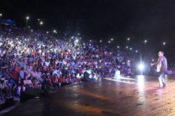 (Video) Imágenes en video de cómo se gozó el público el espectáculo de El Torito en el anfiteatro de Puerto Plata