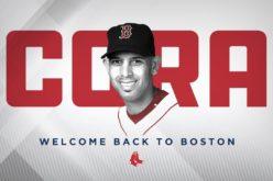 Pedro Martinez saluda designacion de Alex Cora como manager de Medias Rojas de Boston y le da la bienvenida
