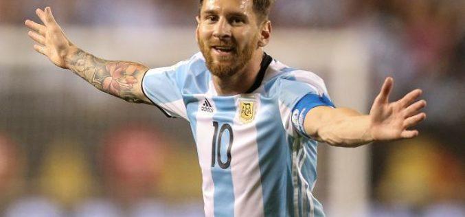 Messi en video, semi-desnudo, celebrando la clasificación de Argentina al Mundial de Rusia 2018