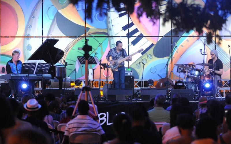 Puerto Plata disfrutó el Dominican Republic Jazz Festival en su Parque Central