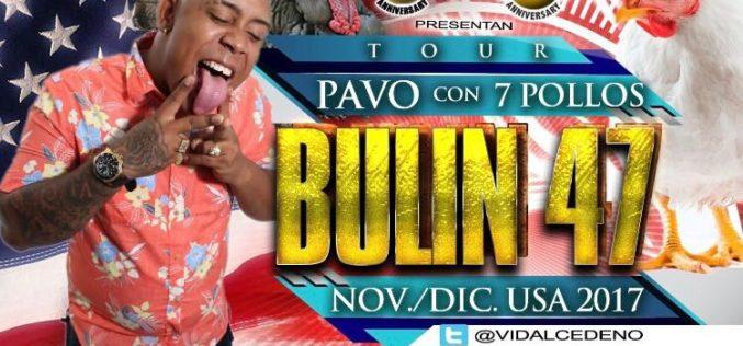 El Tour Pavo con 7 Pollos, la gira de Navidad de Bulin 47 por Estados Unidos…