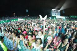 Imágenes del Festival Presidente 2017 en su primera noche… Un impactante acontecimiento…