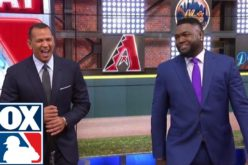 (Video) David Ortiz habla de su nuevo rol como comentarista de la Cadena Fox junto a Alex Rodriguez