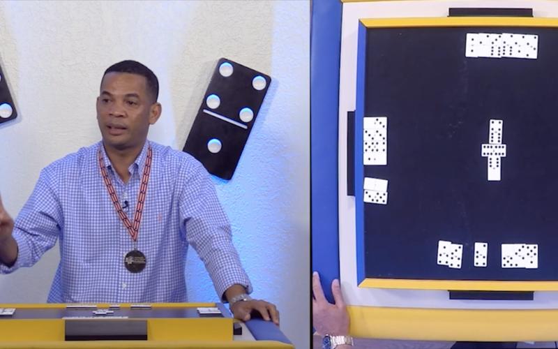 (Video) Dominicano Campeón Mundial de Dominó habla de su trayectoria y explica cómo ganar en ese juego