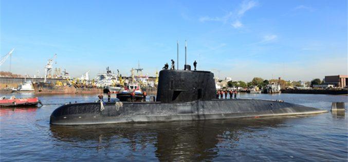 El submarino argentino que desapareció con 44 tripulantes; presidente Macri asume compromiso de localizarlo