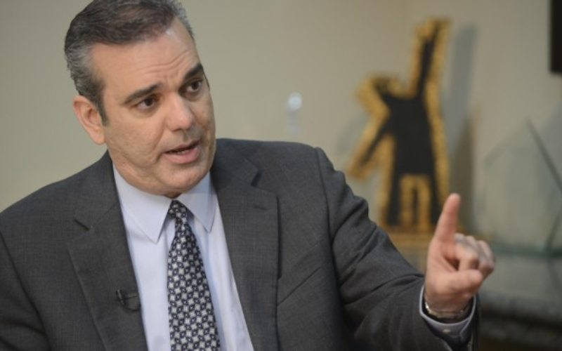 «Estamos hartos y cansados de tanta corrupción y desorden»; Luis Abinader advierte al PLD que está jugando con paciencia del pueblo