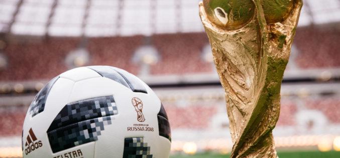 El balón de la Copa Mundial de Rusia 2018