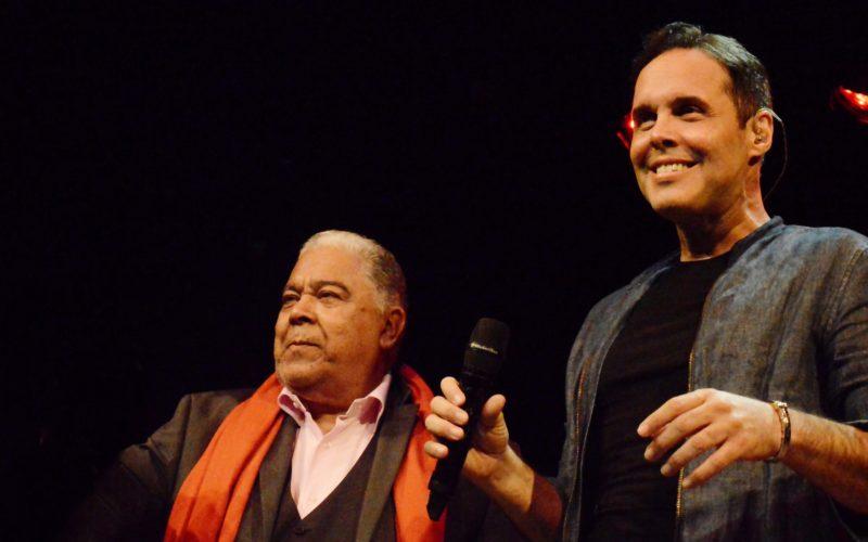 Danny Rivera, Frank Ceara y sus amigos de cada lunes de diciembre… Ya compartieron con Maridalia, Adalgisa y Pavel Núñez…