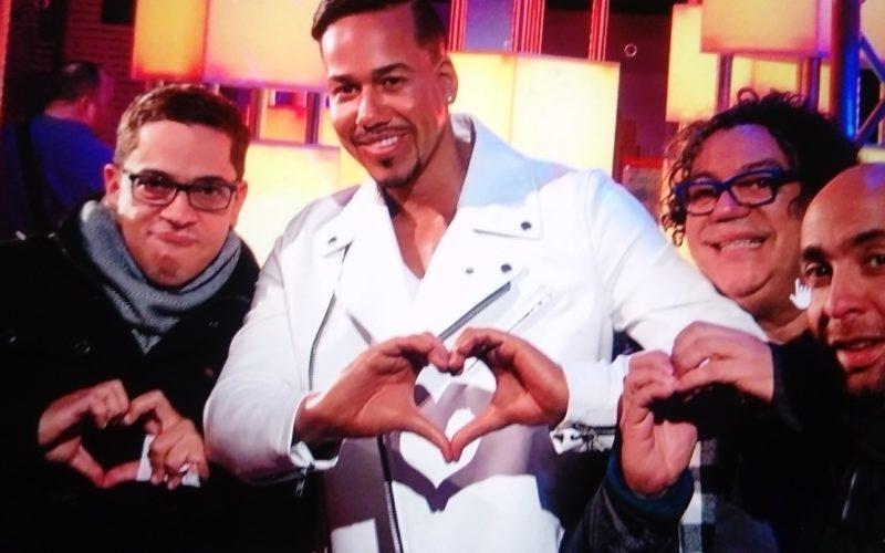 Irving Alverti, Kenny Grullón y Luis José Germán (Los 3 Temores) felices con el respaldo de Romeo Santos en Estados Unidos