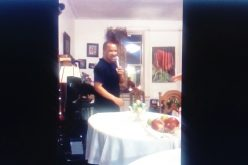 (Video) Ahí tienen a Vidal Cedeño, «el cantante»…