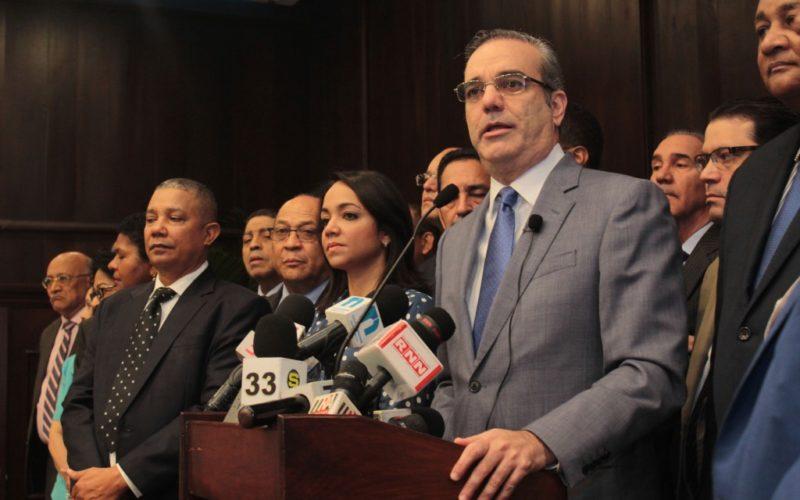 Luis Abinader sostiene es derecho adquirido de militancias de partidos elegir y proponer a sus candidatos