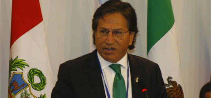 En Perú piden extradición del ex presidente Alejandro Toledo