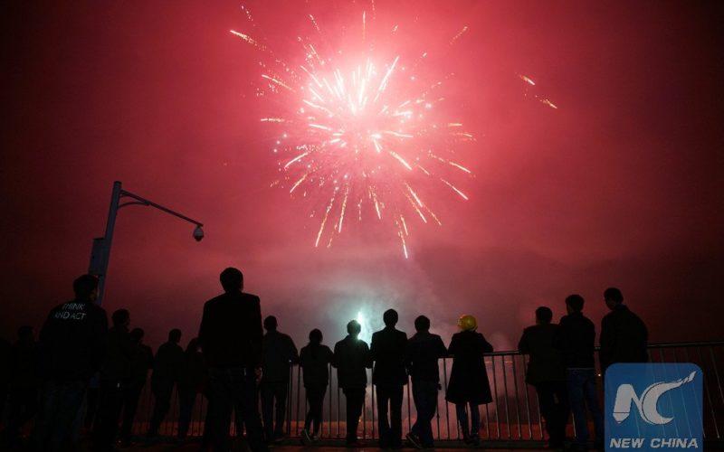 En la capital de China prohíben los fuegos artificiales
