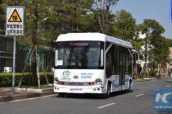 Inician pruebas de autobuses sin chófer en China; pueden esquivar peatones y vehículos y cambiar de carril