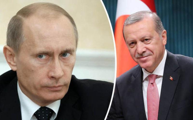 Vladimir Putin, presidente de Rusia, y Erdogan, de Turqía, condenan reconocimiento de Donald Trump a Jerusalén