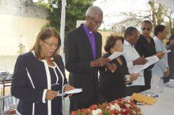 Colegio Evangélico Central en homenaje póstumo a la profesora Gladys Estela Vicioso Genao