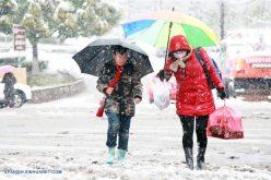 En China también hay nieve…