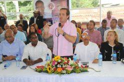 Senador Paliza considera PRM debe hacer oposición desde comunidades