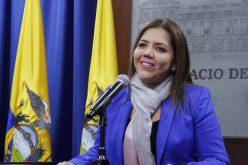 María Alejandra Vicuña, designada vicepresidenta de Ecuador