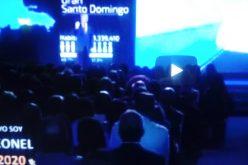 (Video) Leonel con un túnel sub-acuático de 3 carriles en río Ozama y tren de carga y pasajeros por el Cibao, de volver a ser presidente