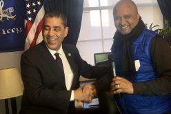 José Zabala no se cambia por nadie: es primer bloguero de RD en llegar al Congreso EEUU invitado por Adriano Espaillat