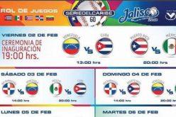 Los lanzadores abridores del equipo de RD en la Serie del Caribe en Jalisco, México