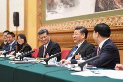 Presidente chino Xi Jinping participa en panel con diputados en Asamblea Popular Nacional