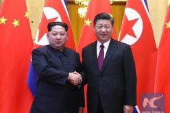 El presidente de China, Xi Jinping, recibió a su homólogo de Corea del Norte, Kim Jong un, en visita no oficial
