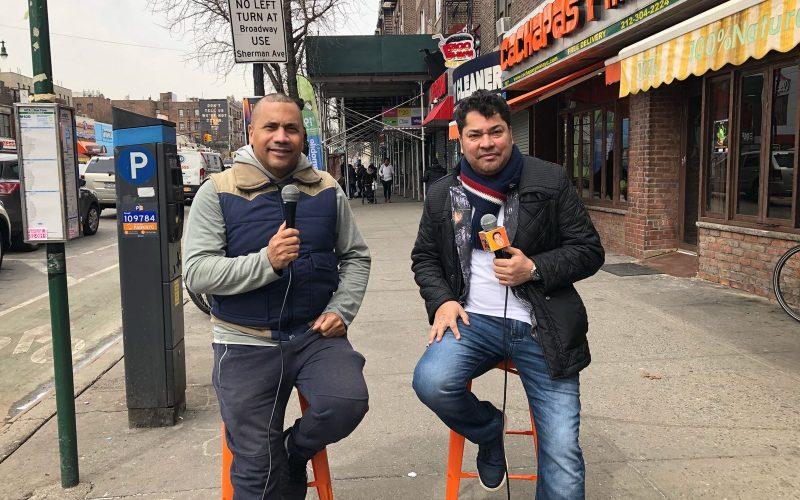 El Pacha en las calles de Nueva York celebrando 10 años de De Aquí Pa'llá y De Allá Pa'cá