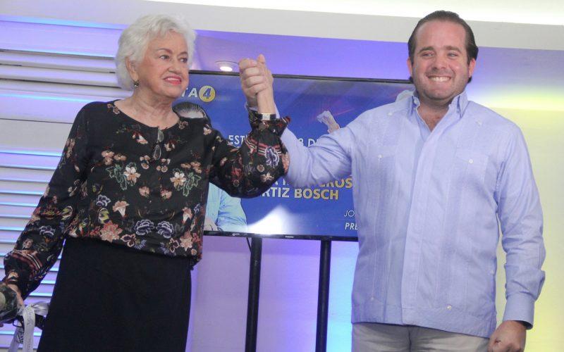 Milagros Ortíz Bosch anuncia respaldo a José Paliza como candidato a presidencia del PRM