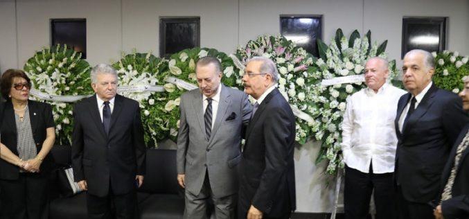 Falleció Muñeca Hasbún viuda Selman… Presidente Medina asiste a funeraria a expresar pesar