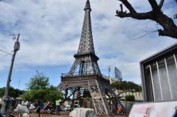 Alcalde cuestiona residentes Las Caobas porque protestan por répltca torre Eifel, pero no protestan por punto de droga a dos cuadras