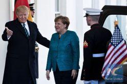 Angela Merkel y Donald Trump se reunirán en la Casa Blanca la próxima semana