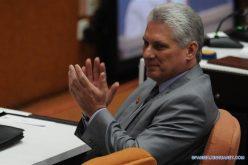 Nuevo presidente cubano decidido a actuar, crear y trabajar sin descanso