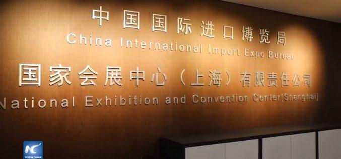 Más de mil 700 empresas de todo el mundo en Exposición Internacional de Importaciones de China