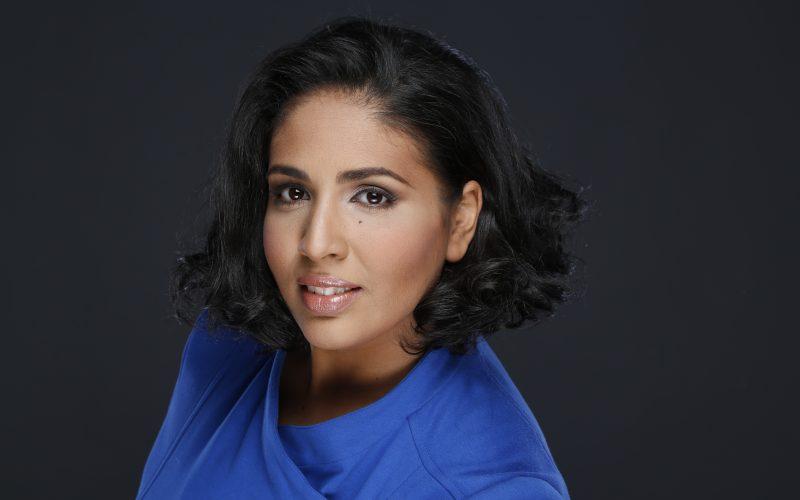 Cantautora cristiana estadounidense Jamayra Núñez en gira de promoción por RD