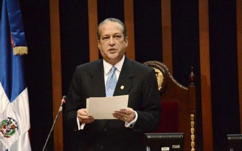 Pared Pérez, presidente del Senado, valora positivamente establecimiento relaciones diplomáticas entre China y RD