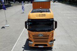 Un camión pesado sin conductor… En China…