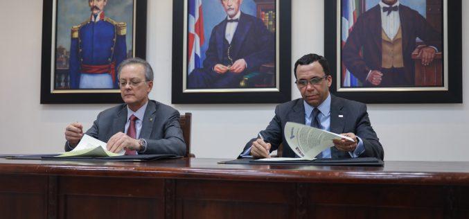 Ministerio de Educación y Fundación Popular firman acuerdo