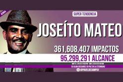 Joseíto Mateo y su muerte, una de las más poderosas tendencias RD del 2018 en Twitter