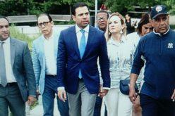 """Roberto Ángel Salcedo y su """"swing"""" de presidente en un paseo neoyorkino"""