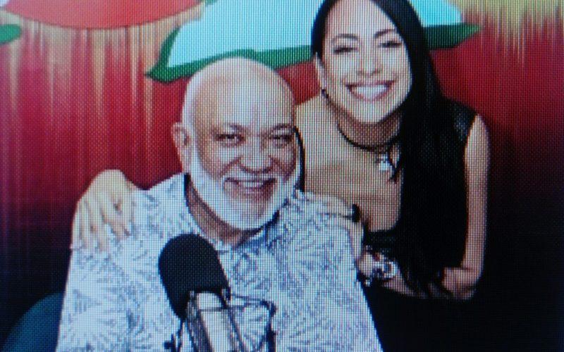 Diana Filpo y su emotiva,  noble, justa, respetuosa, agradecida y franca felicitación de cumpleaños a Jochy Santos