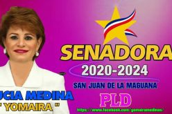 Lucía Medina, la hermana de Danilo, «tiene entre ceja y ceja» ser senadora de San Juan… «¡¡El pleito 'ta casa'o con Félix Bautista!!»